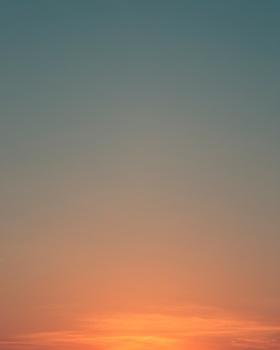 日落后的天空 |摄影师Eric Cahan