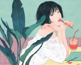韩国插画师Zipcy作品
