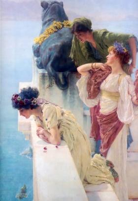 英国绘画大师 阿尔玛-塔德玛(Lawrence Alma-Tadema)