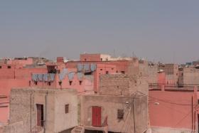 Marrakech red walls