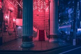 霓虹,东京|Matthieu Bühler 