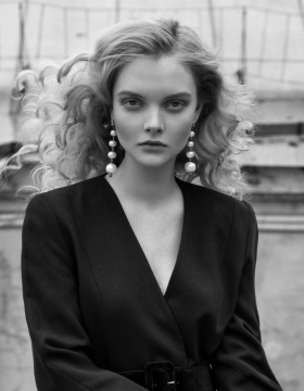 Andrey Yakovlev Lili Aleeva 黑白人像摄影作品