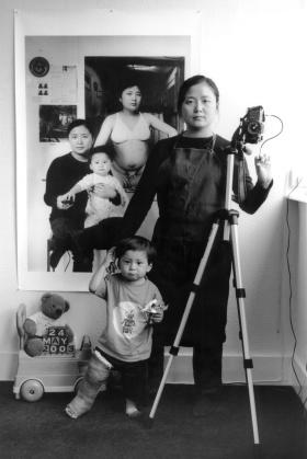 一位母亲和孩子跨越时间的同框记录 | Annie Wang 