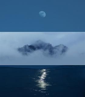 拂雨照花眠,净香对空山。