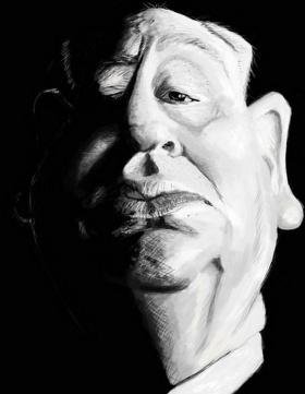 Douglas Stout 肖像漫畫