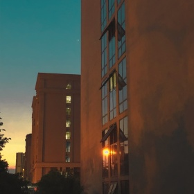 手机摄影——夜晚是橙色的