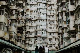 香港街頭生活