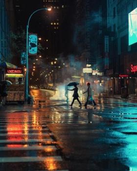 雨天的纽约 | Eric Van Nynatten