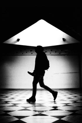 黑白街头 | 摄影师 adrien perea