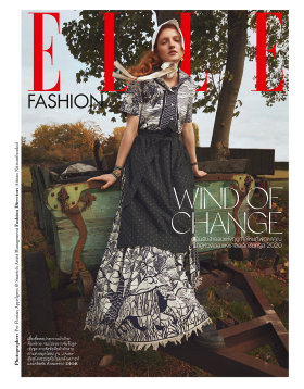 《ELLE》杂志 2020年1月刊|摄影:Per Florian Appelgren