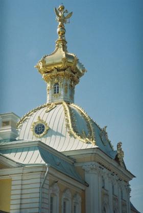 夏天的俄罗斯 圣彼得堡夏宫