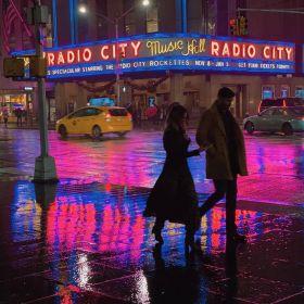 雨夜,染色的街 | Eric Van Nynatten