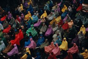 90年代的上海   玛格南摄影师Stuart Franklin 