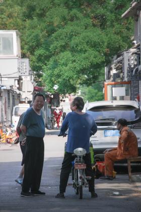 北京胡同生活