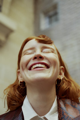 Marta Bevacqua 人像摄影作品【Mie in Montmartre】