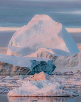 北极,染色的冰山 | Michael Schauer