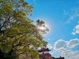 颐和园的-天空