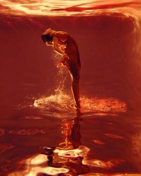 油画般的美 | marta syrko水中人像摄影作品 