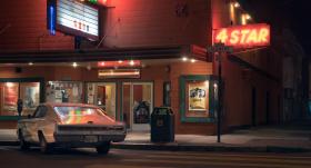 加利福尼亚的夜 |  Christopher Soukup电影般质感的街头影像