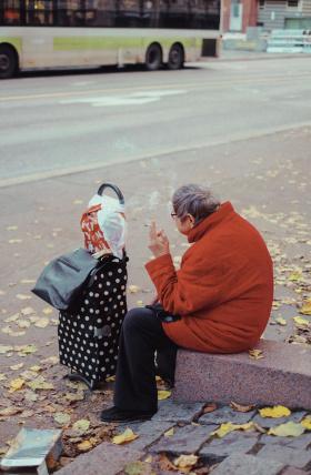 赫尔辛基街头影像| 摄影师Kasperi Kropsu 
