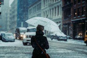 风雪中的纽约 | Paola M Franqui 电影般质感的街头影像 