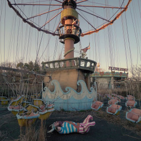 日本奈良,废弃的游乐园    Victor Habchy 