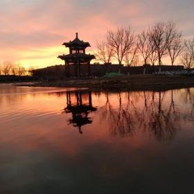 北化柳湖朝望